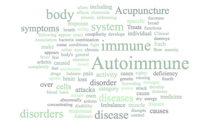 Autoimmune Disease Acupuncture in Kerry