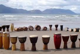 Drums on Acupuncturie County Kerry